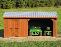 Great Prices on Custom Metal Carports and Garages | Amish-Built Wood