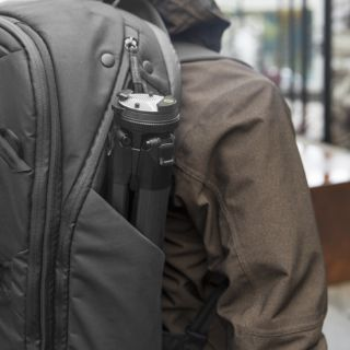 tripod in travel bag
